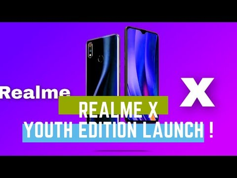 Download thumbnail for Realme X - FIRST LOOK !Realme X Youth Edition