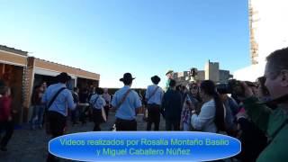 Marvao Feria de la castaña Gigantes y cabezudos