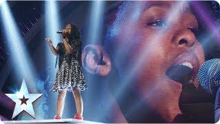 Asanda the mini diva singing Beyonce's 'Halo' | Semi-Final 4 | Britain's Got Talent 2013