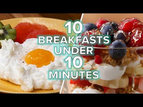 Breakfasts In Under 10 Minutes