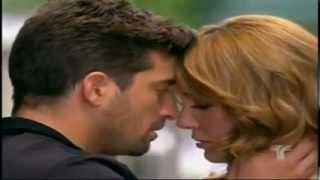 Mariana y Martin beso