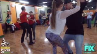FIX Zouk Demo After Class   Pedrinho & Linda Alessandro & Dionne