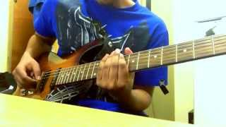 Escape the fate- Picture perfect guitar cover with solo