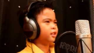 "7 year old kid sings ""FREAK THE FREAK OUT"" - cover by ANGELO GILES"
