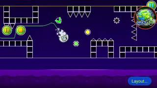 [Bossfight CC] Geometry Dash (2.1) - Geometry Space [LAYOUT] by AgentJDN (me) | AgentJDN