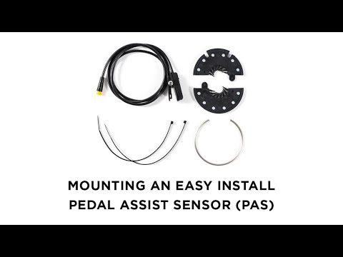 How to Install an Easy Pedal Assist Sensor (PAS) - Easy Install Pedal Assist System for e-bikes