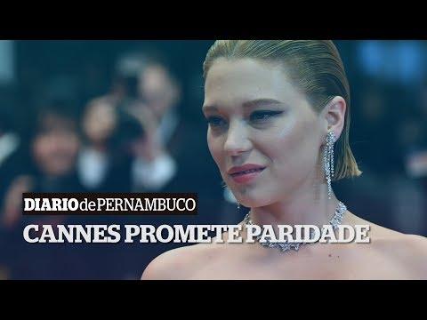 Festival de Cannes assume compromisso de paridade de gênero