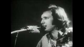 Don McLean - Vincent - BEFORE American Pie Release Archival Footage of First Playing to Live