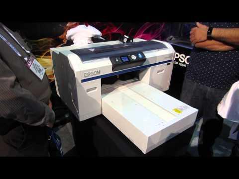 Epson SureColor F2000 DTG Dark Shirt Printing Start to Finish