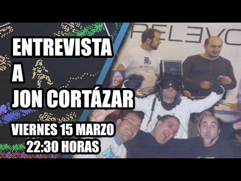 Entrevista a Jon Cortázar