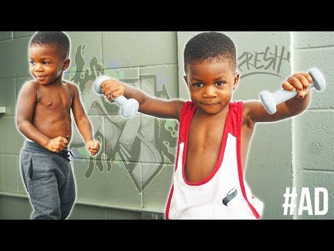 2 Year Old Bodybuilder | DadLife Ep.3 | Gabriel Sey