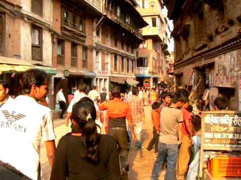 Nepal Kathmandu Streets