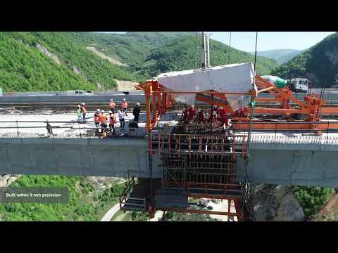 STRABAG - Construction of motorway and Viaduct Babine Rijeka - Bosnia and Herzegovina