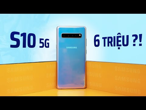 Galaxy S10 5G SẬP GIÁ còn 6TR: Smartphone năm ấy chúng ta cùng