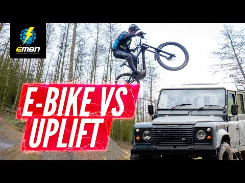 E Bike Vs Uplift   Which Is Faster In The Bike Park?