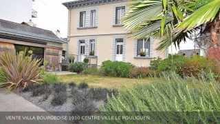 VENTE VILLA BOURGEOISE CENTRE VILLE LE POULIGUEN (44510)