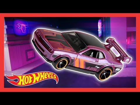 HW Nightburnerz Neon Drive Hypnosis   Hot Wheels