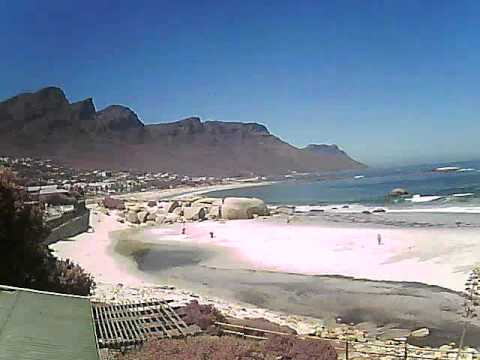 Timelapse Video – Glen Beach & Camps Bay – 21/01/2011