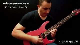 Energema - Guitar Solo Nicolas Waldo //  Sleaszy Rider Records