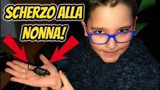 AIUTO UN TOPO! - SCHERZO ALLA NONNA - Leonardo D