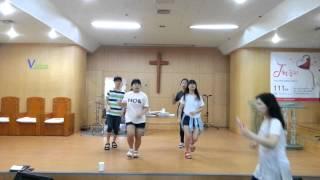 순복음노원교회중등부라인댄스123