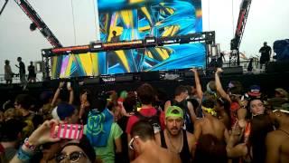 OVERWERK Veld Toronto 2014 -Bacardi Stage Day 1- Rather Be (Overwerk remix)