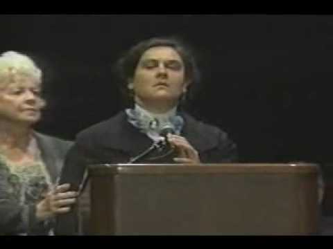 Helen Keller Speech - YouTube
