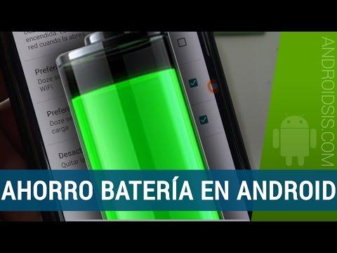 Cómo ahorrar mucha batería en Android. ¡¡FUNCIONA!!