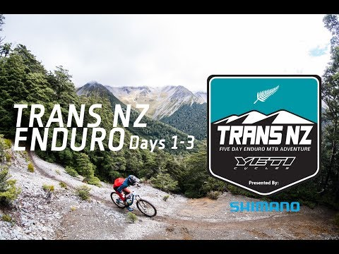 Trans NZ Enduro 2018, with Shimano Australia - Days 1, 2 and 3