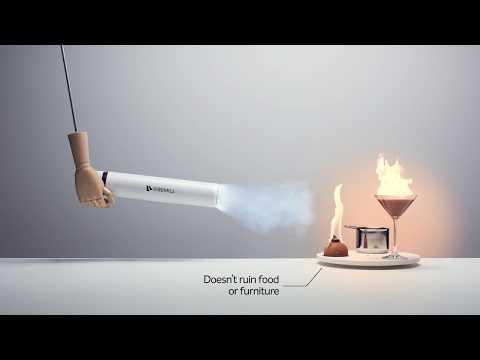 Brandsläckare med kolsyrepatron - Firemill