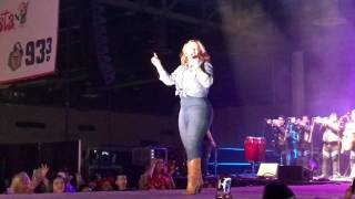 Horas Extras- Chiquis Rivera Performing Live At NRG Stadium in Houston Texas