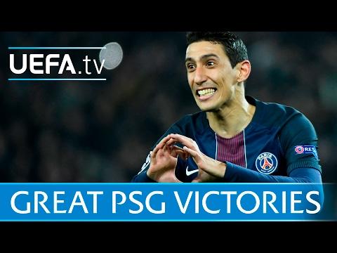 Di María, Ibrahimović: Six great Paris Saint-Germain wins