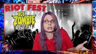 ROB ZOMBIE: RIOT FEST 2016 ♫ MUSIC REVIEW