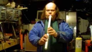 Low D PVC Whistle