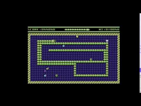 The Forever Extending Hungry Snake (build 2) [Commodore 64]