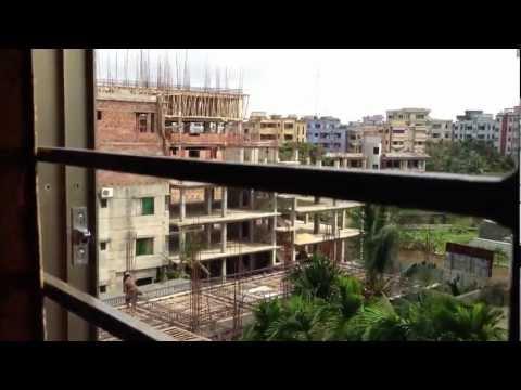 バングラデシュ チッタゴン 高層マンションからの風景