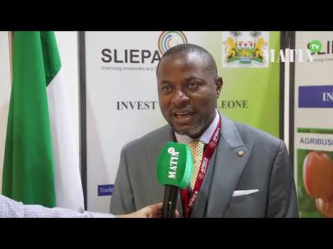 Video : FIAD 2019 : Sheku Lexmond Koroma, CEO Sierra Leone Investment & Export