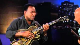 George Benson plays the blues over rhythm changes
