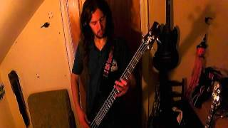 Mastodon - Once More 'Round the Sun (bass cover)