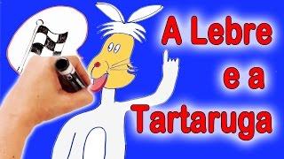 Este é o conto de: A Lebre e a Tartaruga - Desenhos - Histórias Clássicas para Crianças