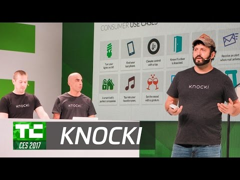 Activate Your Smart Home with Knocki at CES 2017