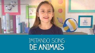 Como imitar sons de animais