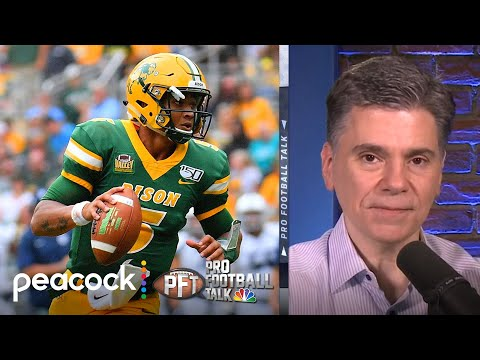 When QB Trey Lance could be selected in the 2021 NFL Draft | Pro Football Talk | NBC Sports