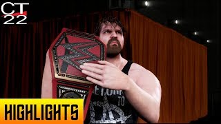 WWE 2K Universe - WWE 2K19: Dean Ambrose's First Entrance as Universal Champion
