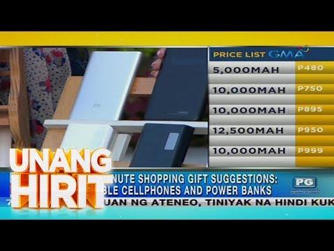 Unang Hirit: Affordable cellphones at power banks, ibinida sa 'Unang Hirit'