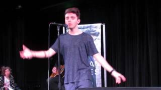 "Nathan Sykes covers ""Lets Get It On"" by Marvin Gaye (live)"