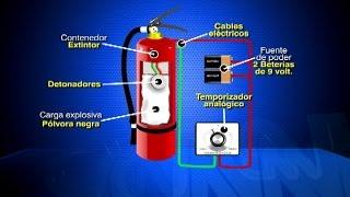La fácil pero peligrosa fabricación de bombas artesanales