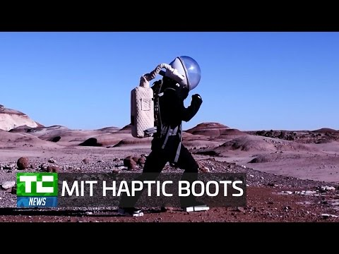 Haptic boots could help keep astronauts on their feet