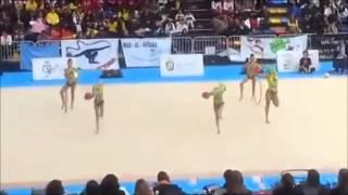 Campeonato gimnasia ritmica Guadalajara alevin base Cronos