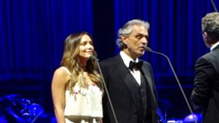 """""""Can't Help Falling In Love"""" - Andrea Bocelli with Katherine McPhee (duet)"""